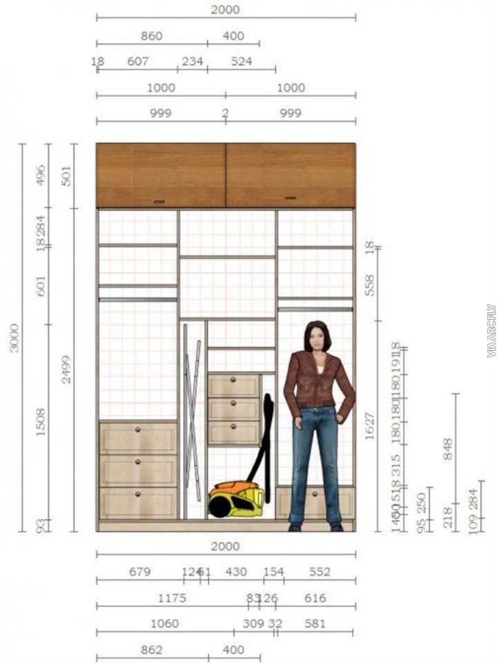 Proyecto Mueble Funcional Diseño De Mobiliario A Medida: 12 Planos Para Muebles Con Las Medidas Adecuadas Para