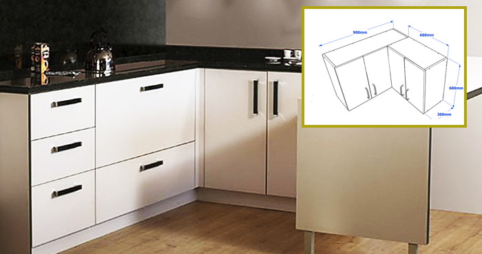 Aprende a construir tu mueble de cocina esquinero en \